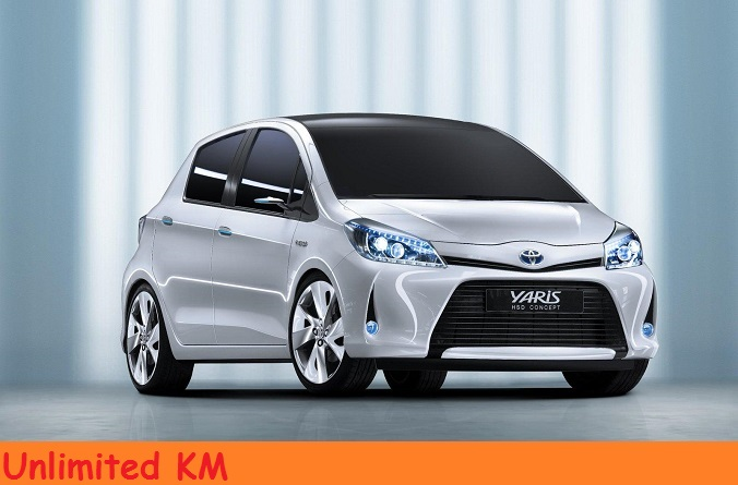Toyota Yaris 175€ for 7 days!300€ for 14 days!