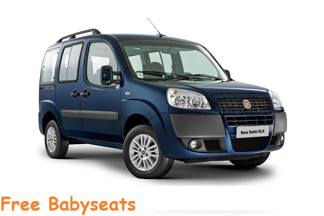 Fiat - Doblo 7 seats240€ for 7 days!420€ for 14 days!